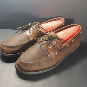 Sperry Top Siders, size 9.5, excellent condition.